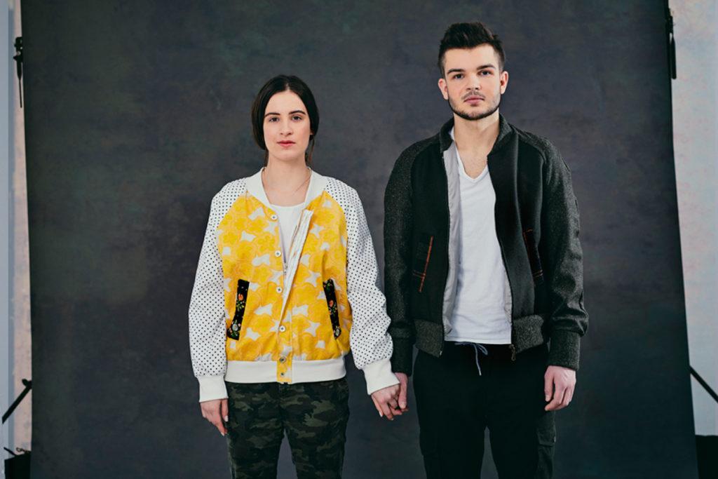Die Schneiderei SilkandSoul fertigt zur aktuellen Mode einzigartige Bomberjacken.